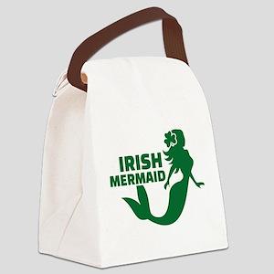 Irish mermaid Canvas Lunch Bag