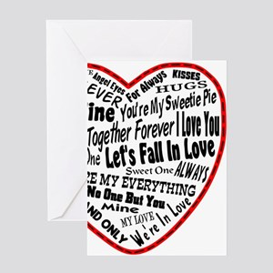 Heart Full Of Love Greeting Cards