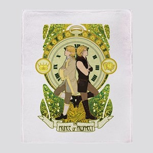 The Prince And The Pauper Throw Blanket