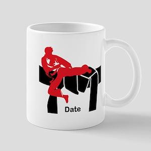 Black Belt Male Mug