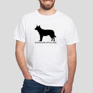 """""""Australian Cattle Dog"""" - White T-shirt"""