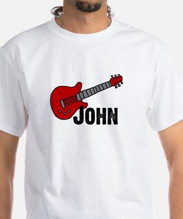 Guitar - John White T-shirt