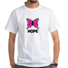 Butterfly - Hope White T-shirt