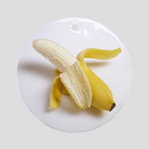 peeled banana Ornament (Round)