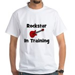 Rockstar In Training White T-shirt
