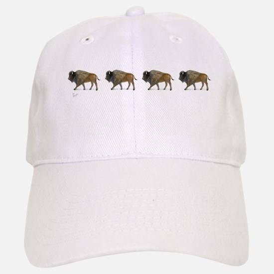 Buffalos on the way Baseball Baseball Baseball Cap