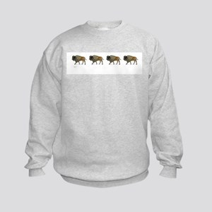 Buffalos on the way Sweatshirt
