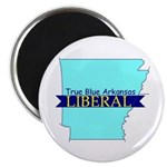"2.25"" Magnet (10 pack) True Blue Arkansas LIBERAL"