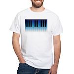 Daybreak Piano White T-shirt