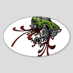 Deadball Rupture Truck Sticker