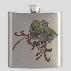 Deadball Rupture Truck Flask