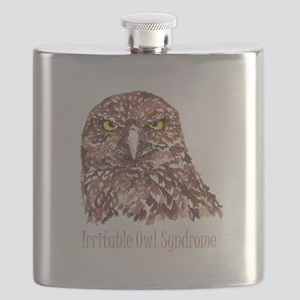 Irritable Owl Syndrome Humor Quote Burrowing Owl F
