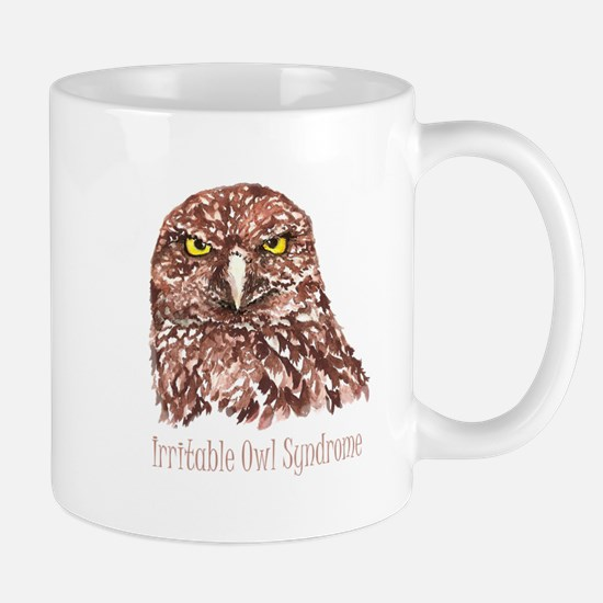Irritable Owl Syndrome Humor Quote Burrowing Owl M