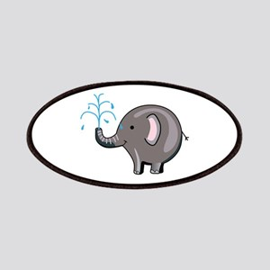ELEPHANT SPRAYING WATER Patches