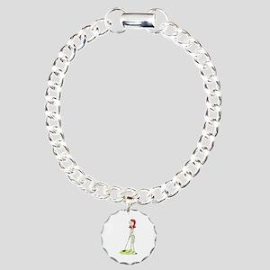 Lady Golfer Bracelet