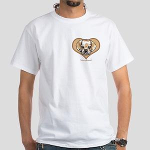 Snuggle Puggle White T-shirt 2