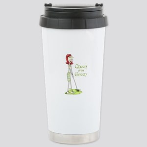 Queen Of The Green Travel Mug