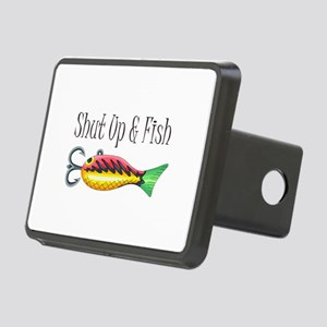 SHUT UP & FISH Hitch Cover