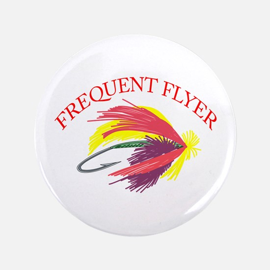 """FREQUENT FLYER 3.5"""" Button"""