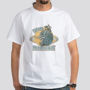 Boy Paleontologist White T-shirt