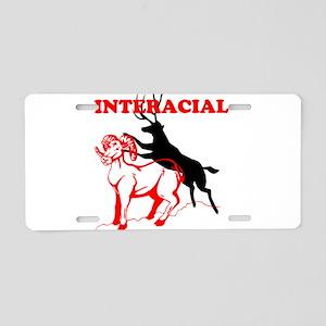 INTERRACE Aluminum License Plate