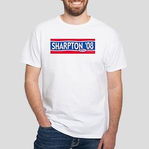 2008 Al Sharpton Text White T-shirt