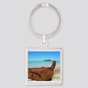 Rarotonga Style Keychains