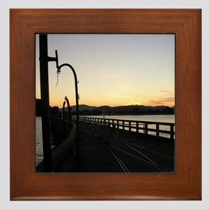 Tolaga Bay Pier Framed Tile