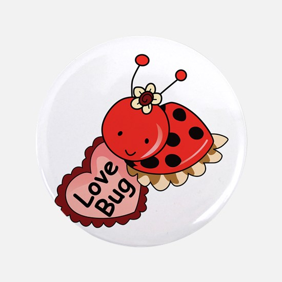 """Love Bug 3.5"""" Button (100 pack)"""