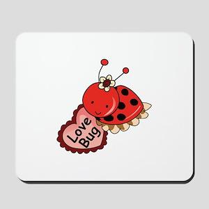 Love Bug Mousepad