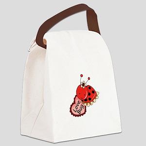 Love Bug Canvas Lunch Bag