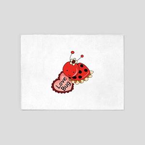 Love Bug 5'x7'Area Rug