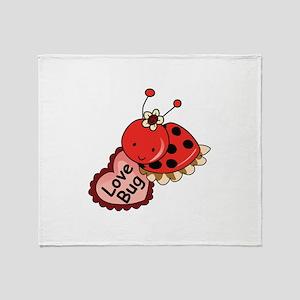 Love Bug Throw Blanket