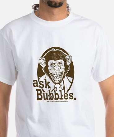 ASK bubbles White T-shirt