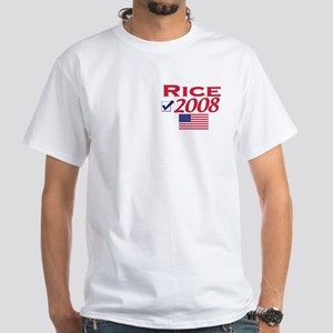 Condi Rice 2008 Gear White T-shirt