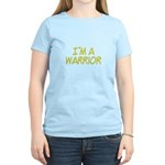 I'm A Warrior [Yellow] Women's Light T-Shirt