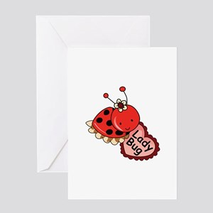 Lady Bug Greeting Cards