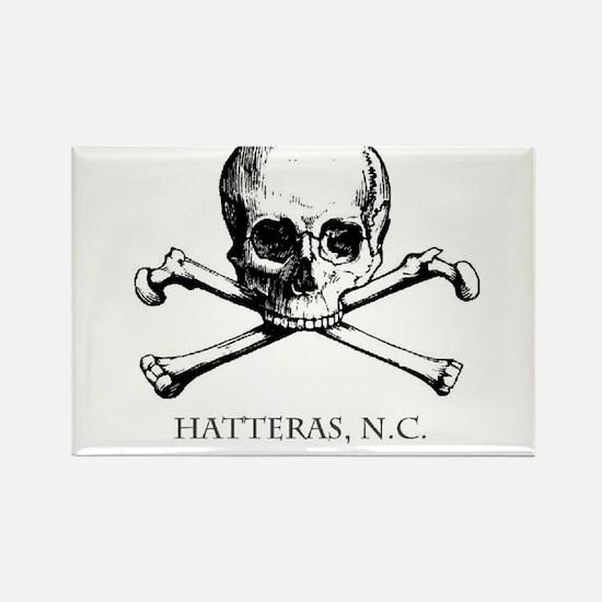 Cute Blackbeard pirate Rectangle Magnet