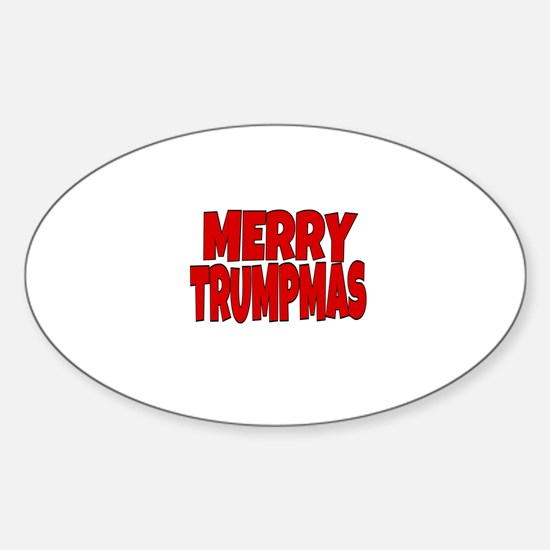 MERRY TRUMPMAS Decal