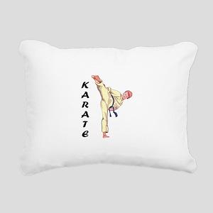 KARATE Rectangular Canvas Pillow