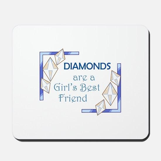 GIRLS BEST FRIEND Mousepad