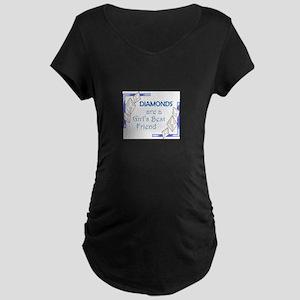 GIRLS BEST FRIEND Maternity T-Shirt