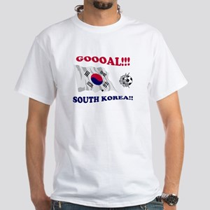 Goal South Korea White T-shirt
