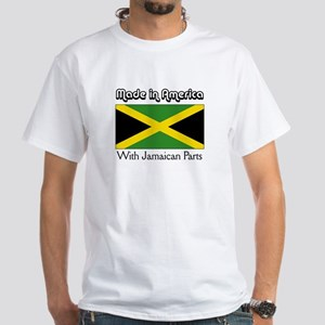 Jamaican Parts White T-shirt