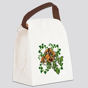 Golden Canvas Lunch Bag