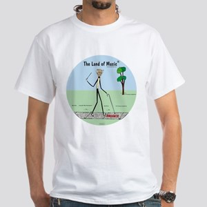 Bartok Baton Andante White T-shirt