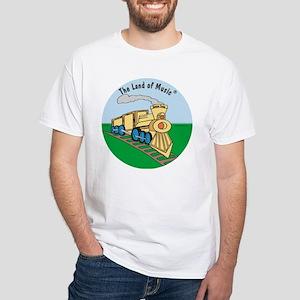 Tempo Train White T-shirt