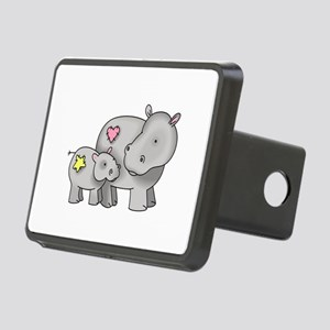 MOTHER AND BABY HIPPO Hitch Cover
