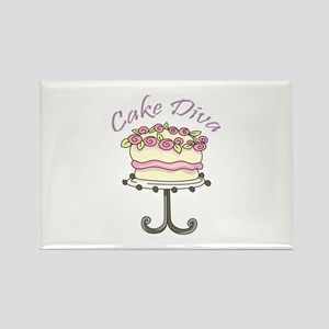 CAKE DIVA Magnets