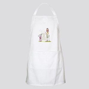 LIE IN GREEN PASTURES Apron